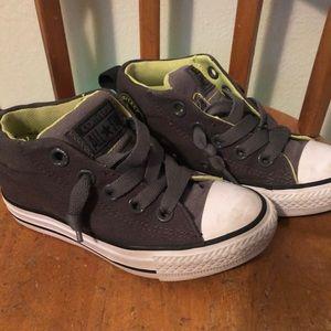 Converse Shoes - Converse Chuck Taylor No-Lace Mid Top Sz 11 Kids